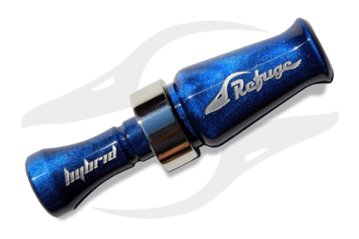 Blue Pearl Double Reed Hybrid Duck Call
